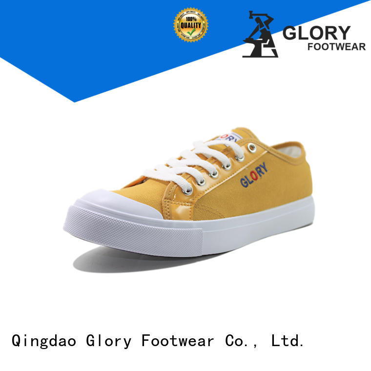 Glory Footwear exquisite canvas sneakers widely-use for business travel