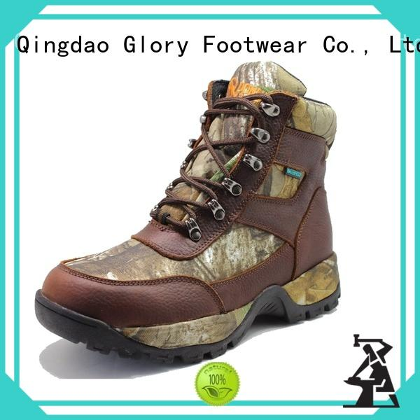 Glory Footwear outsole rubber work boots for wholesale for outdoor activity