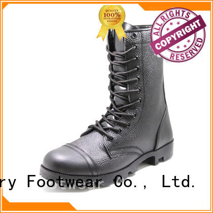 Glory Footwear black military boots order now for business travel